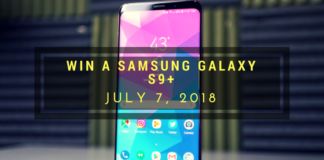 Galaxy s9+ giveaway