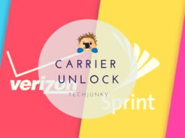Carrier unlock Techjunky