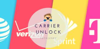 Carrier unlock Techjunky