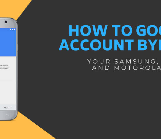 How to Google Account Bypass your Samsung, ZTE, LG, and Motorola Device