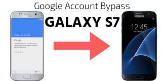 Google account bypass galaxy s7