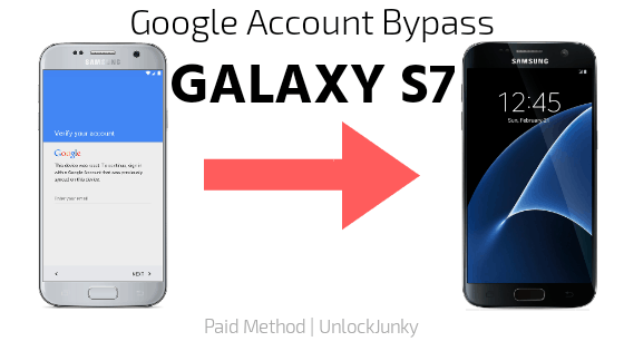 Google account bypass galaxy s7